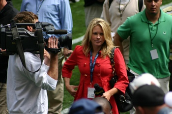 Lisa Gangel of KING-TV via Flickr