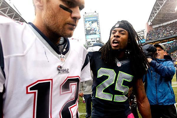 Richard Sherman trashes Tom Brady