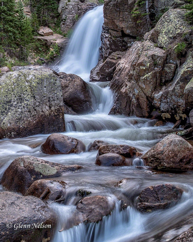 Alberta Falls, on the way to Bear Lake in Rocky Mountain National Park.