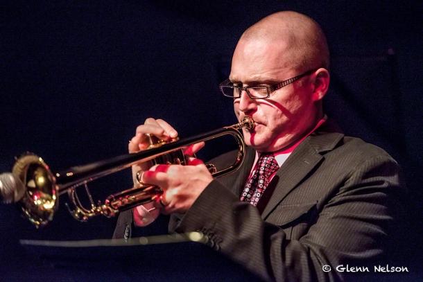 Thomas Marriott on trumpet.