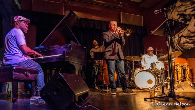 Thomas Marriott and the Orrin Evans trio at the Royal Room.