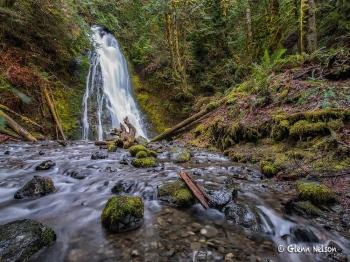 Last hurrah at Madison Creek Falls.