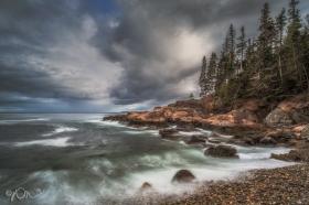 Little Hunter's Beach in Acadia National Park.