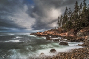 Little Hunter's Beach in Acadia National Park.