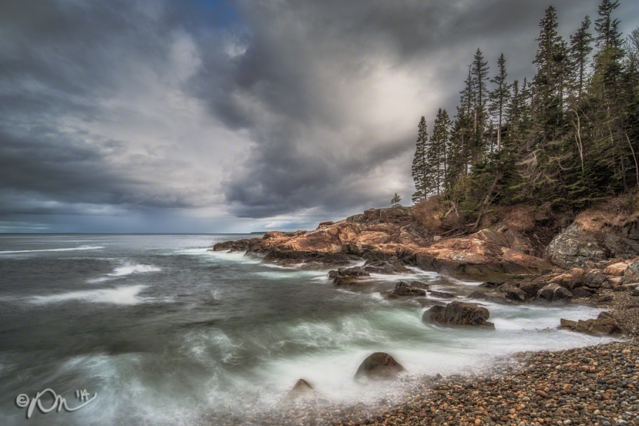 Little Hunter's Beach in Acadia National Park