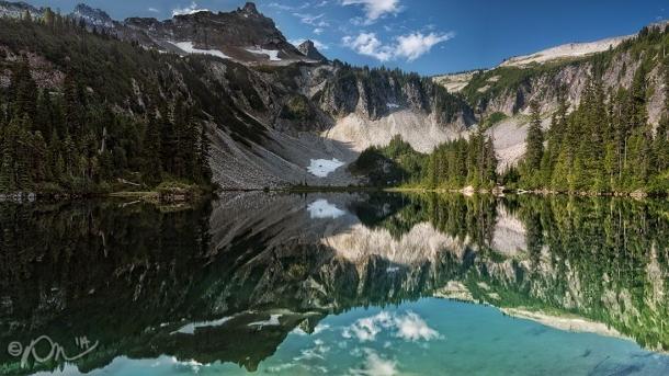 Snow Lake, in Mount Rainier National Park.