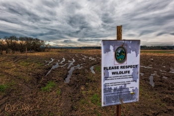 The WDFW posted signs and increased its presence.