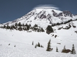 DEC: Snowy Mount Rainier.